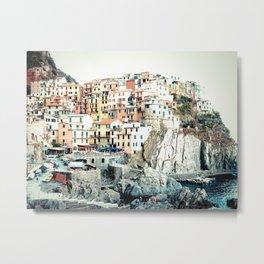 Cinque Terre. Metal Print