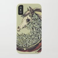 horse iPhone & iPod Cases featuring Beautiful Horse Old by Diego Verhagen