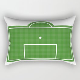 Football Penalty Area Rectangular Pillow
