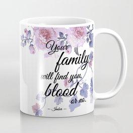 Blood or No Coffee Mug