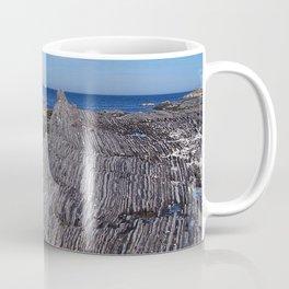 Rock Layers and the Sea Coffee Mug