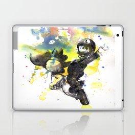 Luigi Riding Yoshi Laptop & iPad Skin