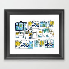 Pack It Up Pack It In Framed Art Print