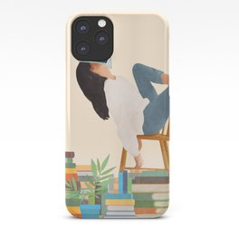 Lost in my books iPhone Case