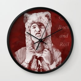Pete Wentz - We Are Wild Wall Clock