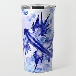 Blue Dragon Sea Slug Travel Mug
