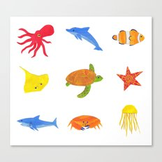 Sea Life! Canvas Print
