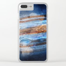 Hello Jupiter! Clear iPhone Case