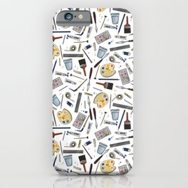 Painter's Supplies - Clear iPhone Case