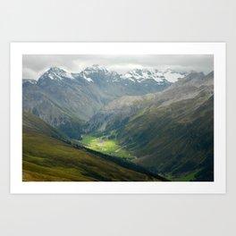 Davos, Switzerland Art Print