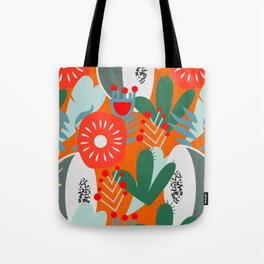 Cacti, fruits and flowers Tote Bag