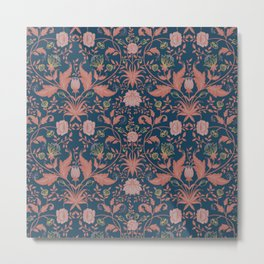 William Morris Metal Print