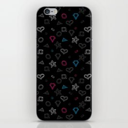 Hipster figures  iPhone Skin