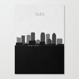 City Skylines: Tampa Canvas Print