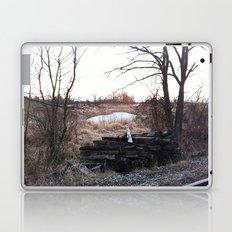 Old train track boards  Laptop & iPad Skin