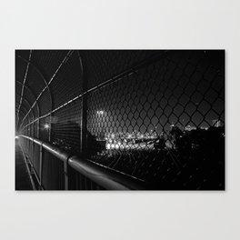 The Train Yard Canvas Print