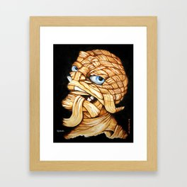Lester Monster Framed Art Print