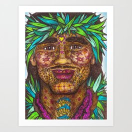 Wisdom Keeper Color #58 (Vitality) Art Print