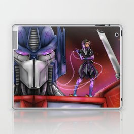 Hack the big guys Laptop & iPad Skin