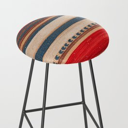 N66 - Classic Oriental Moroccan Style Fabric. Bar Stool