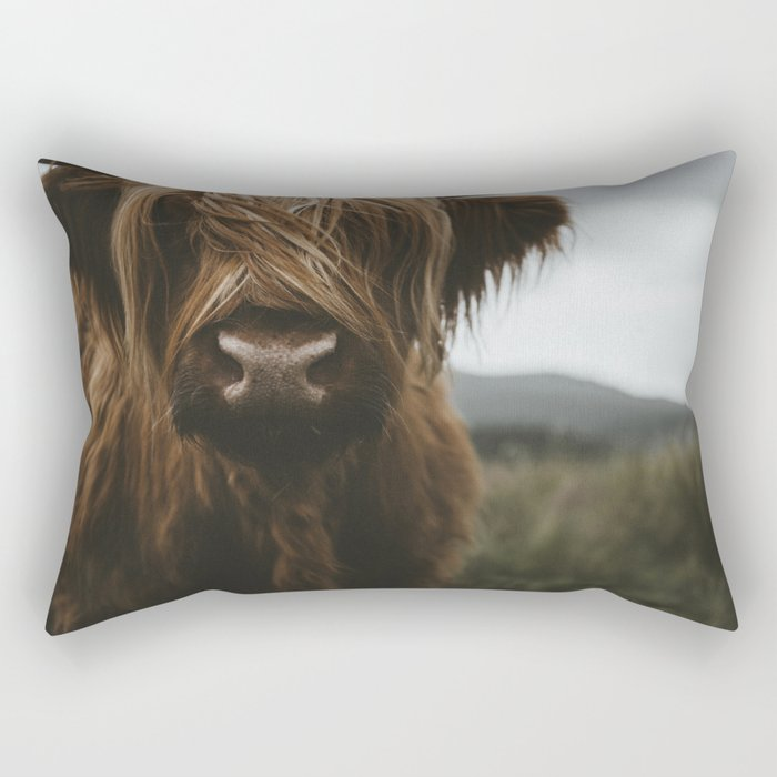 Scottish Highland Cattle Rectangular Pillow