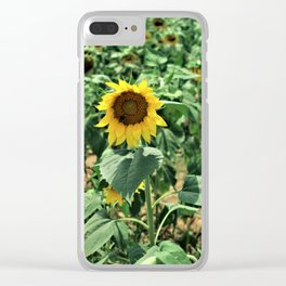 Flower No 6 Clear iPhone Case
