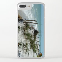 Sanibel Island Clear iPhone Case
