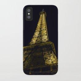 Eiffel Tower @ Night iPhone Case