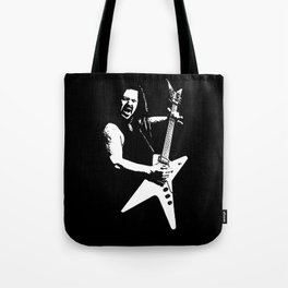 Black Tooth Grin [White] Tote Bag
