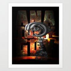 Anatomy guy Art Print