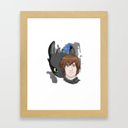 HTTYD | Hiccup Framed Art Print