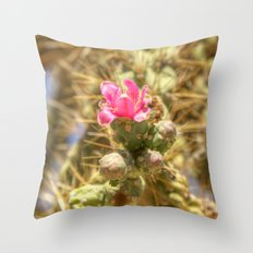 Colorful Danger  Throw Pillow