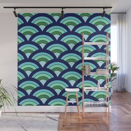Rainbow connection - oceanic Wall Mural
