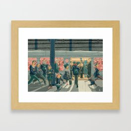 Hey Superhero! Framed Art Print