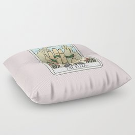 PIZZA READING Floor Pillow