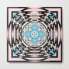 Perspective Aperture, Intersecting Pattern Metal Print
