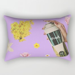 Spring Cleaning Rectangular Pillow