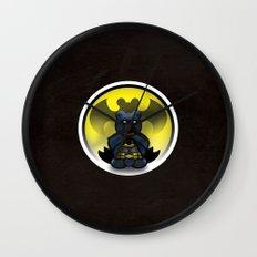 Super Bears - the Moody One Wall Clock