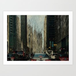 City Canyon Art Print