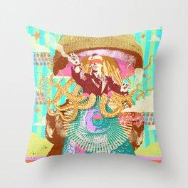 HYPNOTIC FISHMAN Throw Pillow