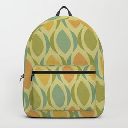 60s Retro Groovy Curves Backpack