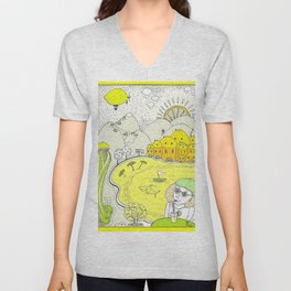 Lemon paradise Unisex V-Neck