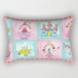 Princess Print Rectangular Pillow