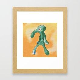 smvez x bold and brash Framed Art Print