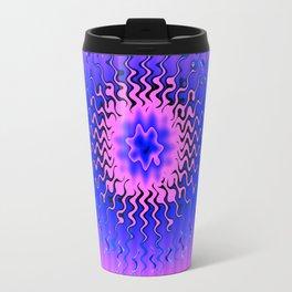pink amoeba Travel Mug