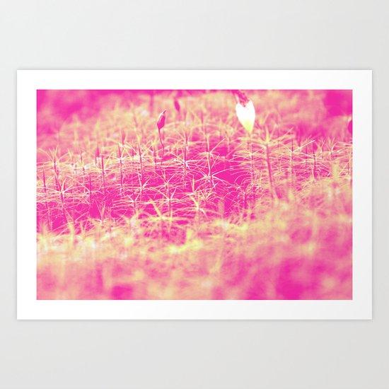 PurpleGreen Art Print