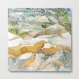 Reflection dream; earthen Metal Print