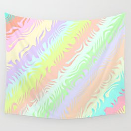 Pastel Rainbow Wall Tapestry