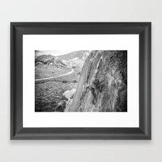 City of Rocks, ID Framed Art Print