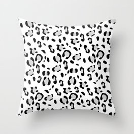 Leopard Animal Print Glam #3 #pattern #decor #art #society6 Throw Pillow